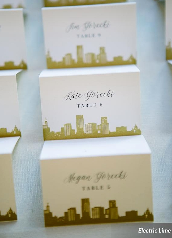 Lyndsey + Christopher Place Cards