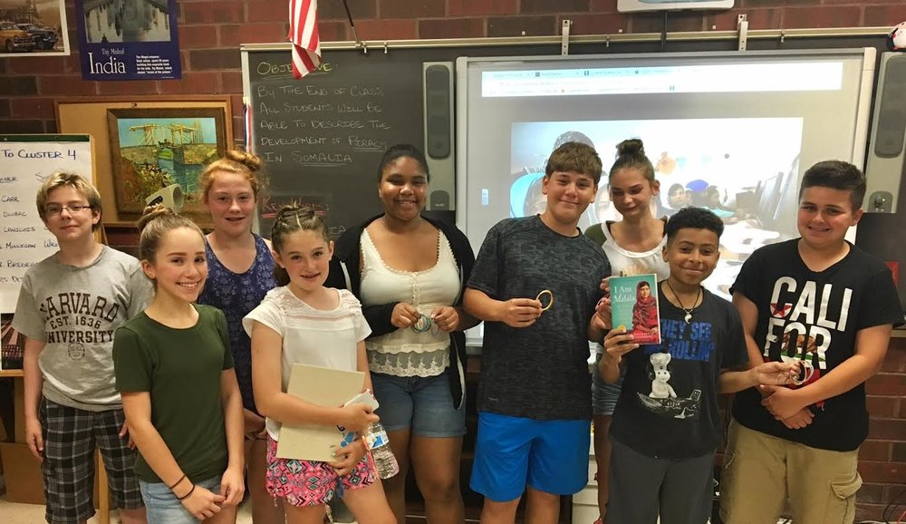 Meriden Students Sell Recycled Flip Flop Bracelets