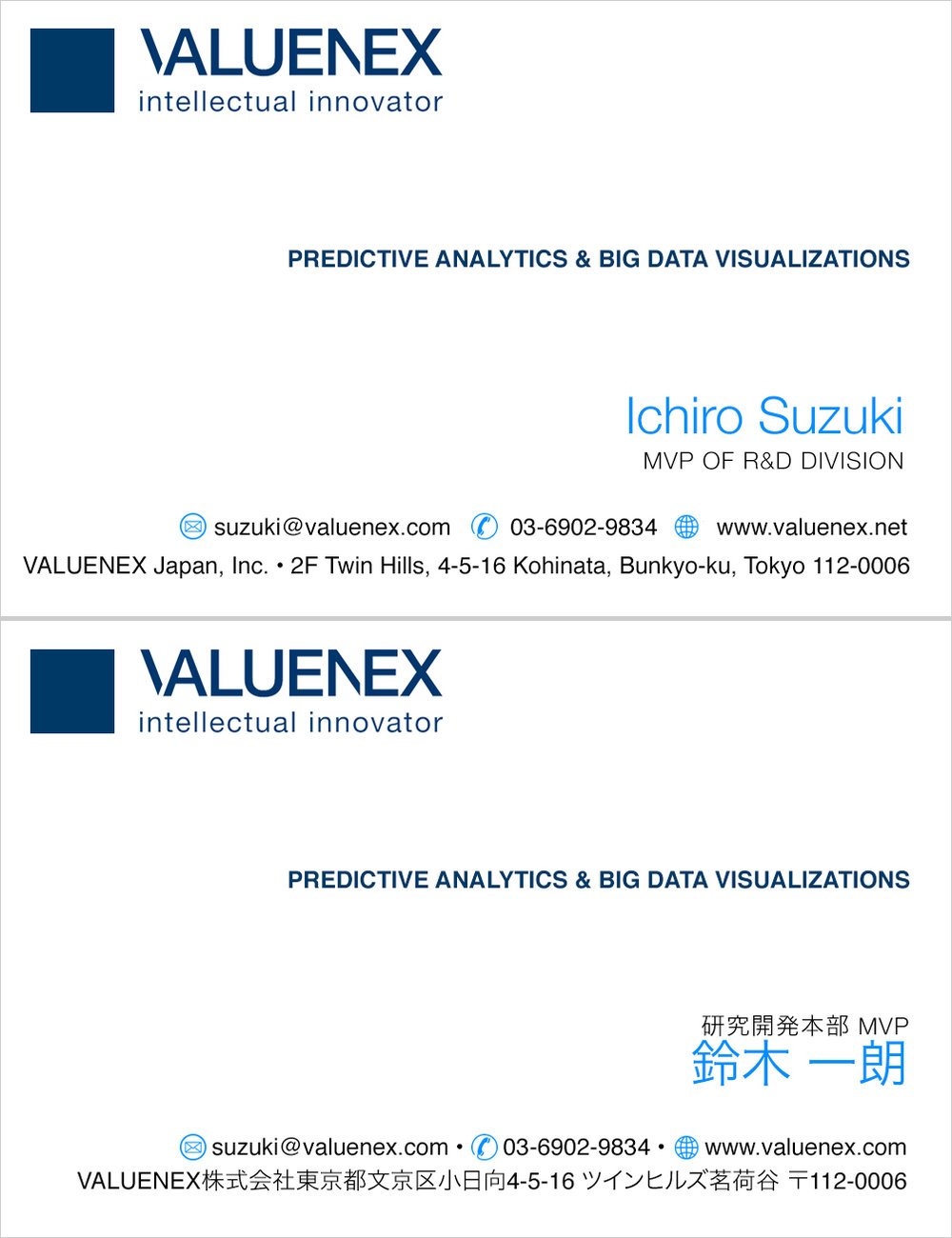 VALUENEX Japan • Option 2