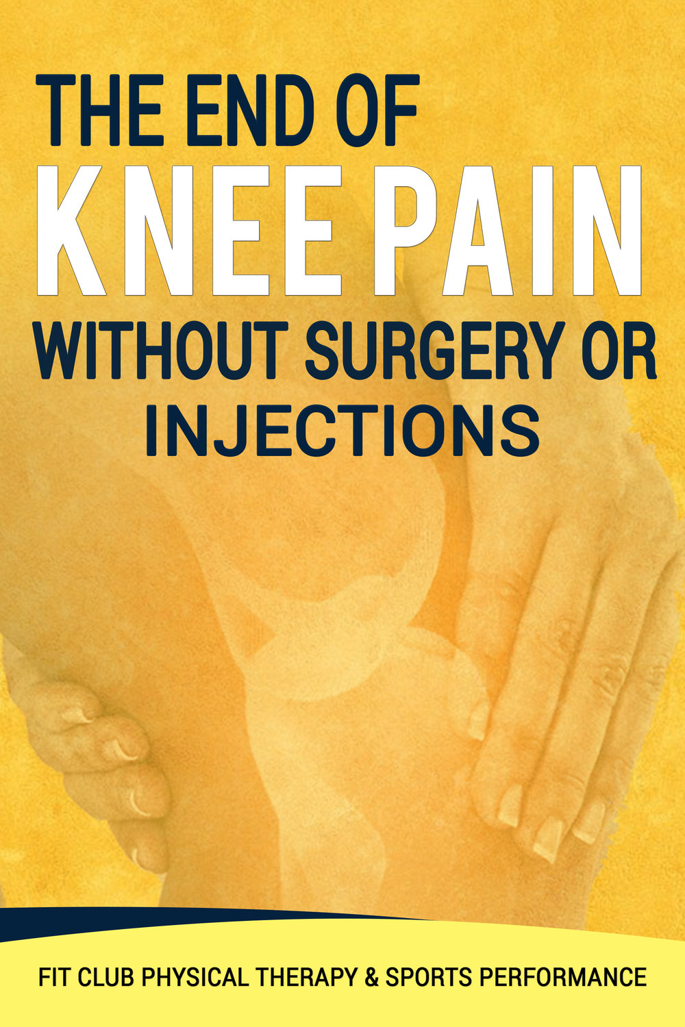 Free Knee Pain Report - Click image to receive your free report now!