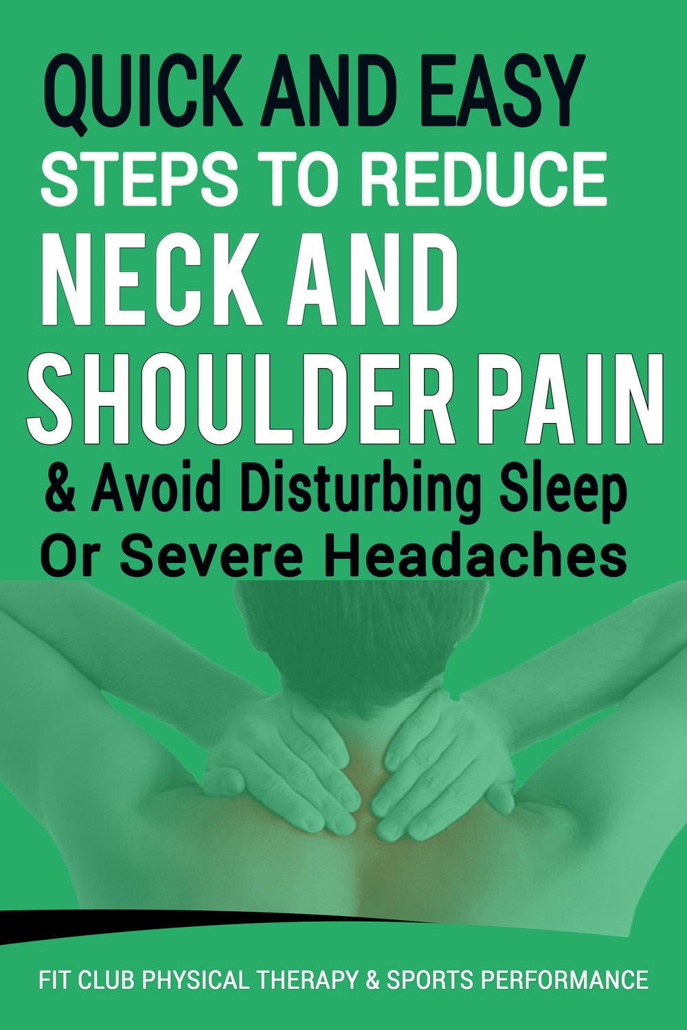 neck and shoulder pain free report