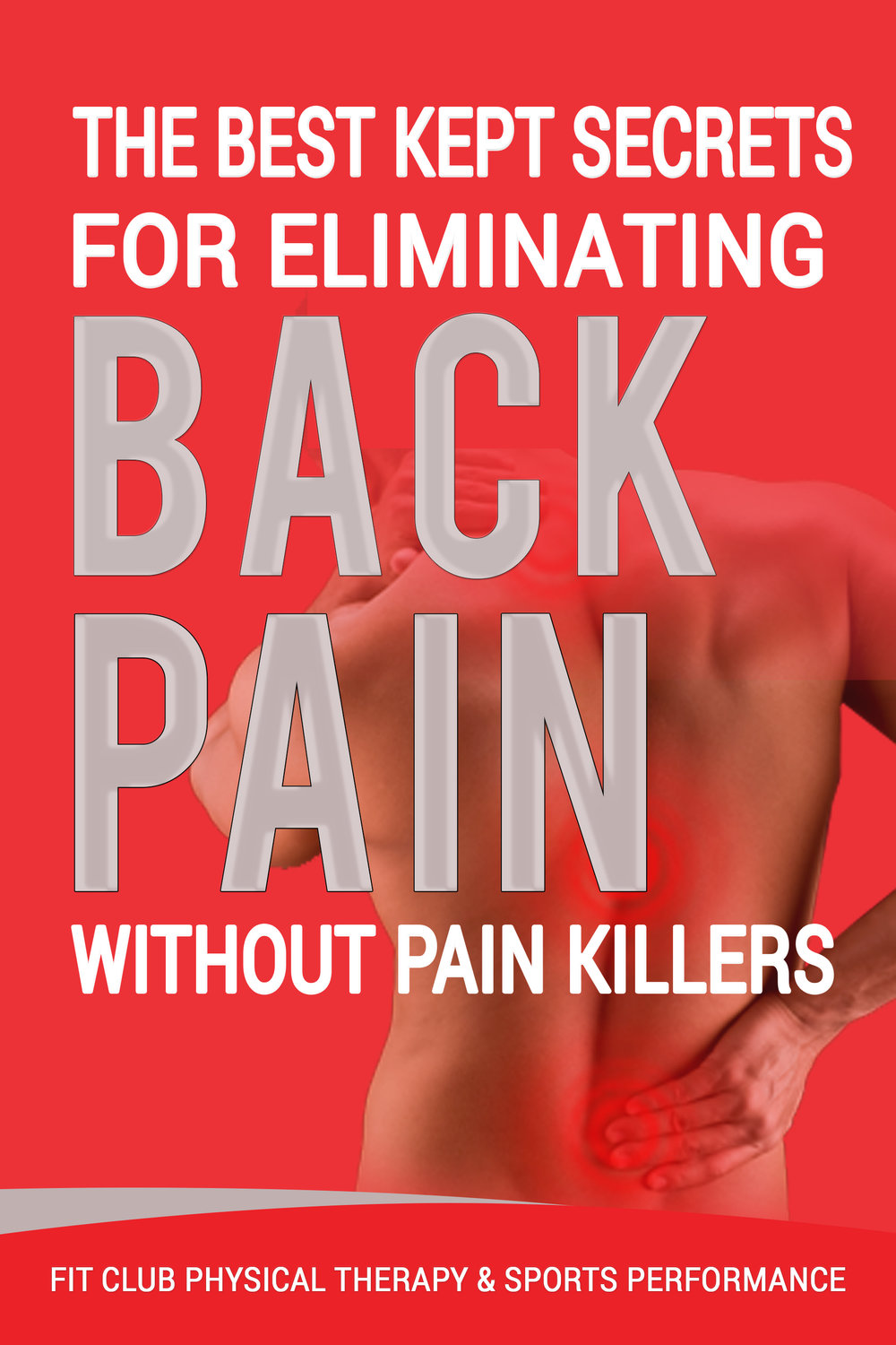 Free Back Pain Report  - Click the image to receive your free report now!