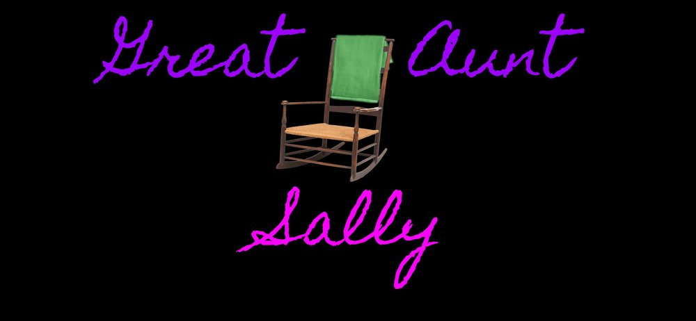 The comedy sketch group  GREAT AUNT SALLY  is Kristen Paul, Frankie Griffen, Sam Alford, Tara Hall and Kimberly Dilts