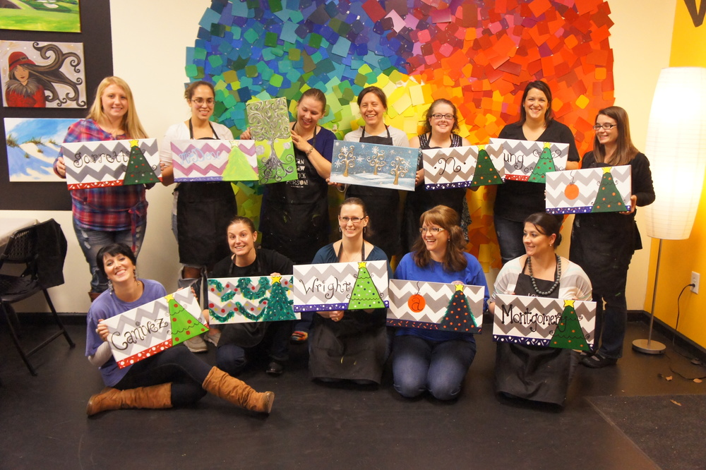 Spirited art auburn painting classes private party venue for Private paint party