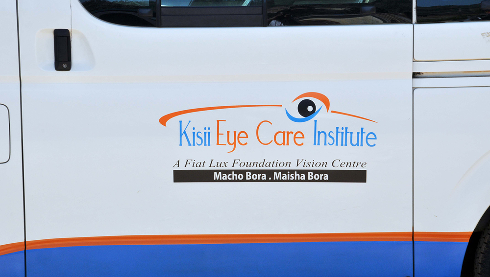 Mini-bus that will be used to transport patients to the hospital from rural areas of southwestern Kenya.