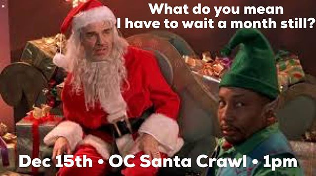 It's getting HUGE already! More and more Santas are joining OC's largest charity pub crawl...@ocsantacrawl its nearly a month away! We can't wait. Did you get your tickets yet? Promo code: fbsanta50 and save.  #ocsantacrawl #barcrawl #santaclause #santa #fundraiser #cocktails #beer #wine #happyhour #newportbeach #newportpeninsula #oc #orangecounty #lagunabeach #irvine #costamesa