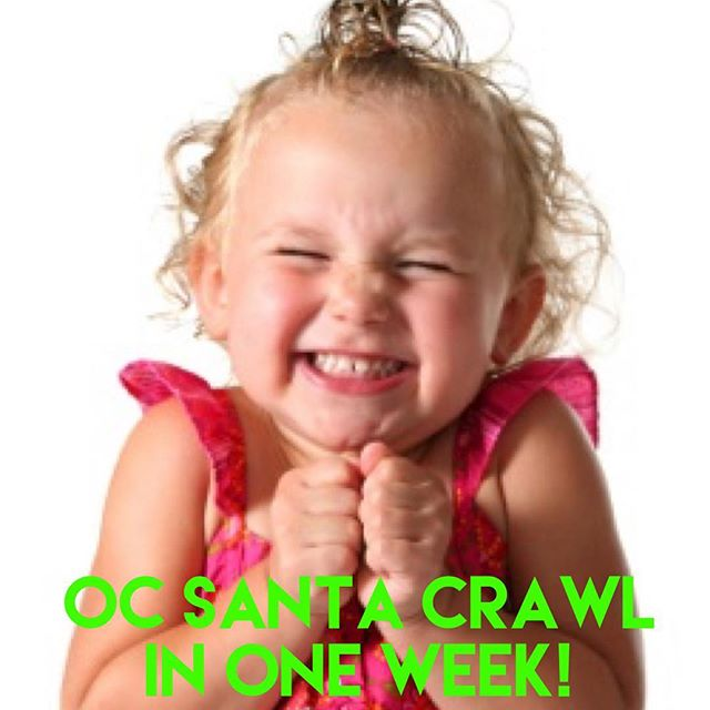We are as excited for this year's @ocsantacrawl it's getting bigger and bigger!! Are you ready?  Get your tix now: promo code - fbsanta50  #orangecounty #newportpeninsula #ocsantacrawl #oc #socal #california #happyhour #wine #beer #girlsnight #barcrawl #pubcrawl #newportbeach #costamesa #laguna #irvine #santa #fundraiser