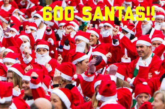 Just in...@ocsantacrawl is 600 Santas Strong!! Keep it going. Spread the cheer and invite your friends. Santa needs his little helpers! Let's break last year's record of 1200!! #600santasstrong #600 #orangecounty #newportpeninsula #newportbeach #costsmesa #laguna #irvine #ocsantacrawl #santa #pubcrawl #barcrawl #santacrawl #happyhour #beer #wine #cocktails #ladiesnight