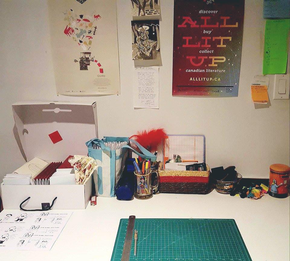 Nicole & Will's Workspace