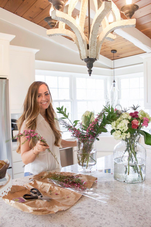 How to make spring floral arrangements