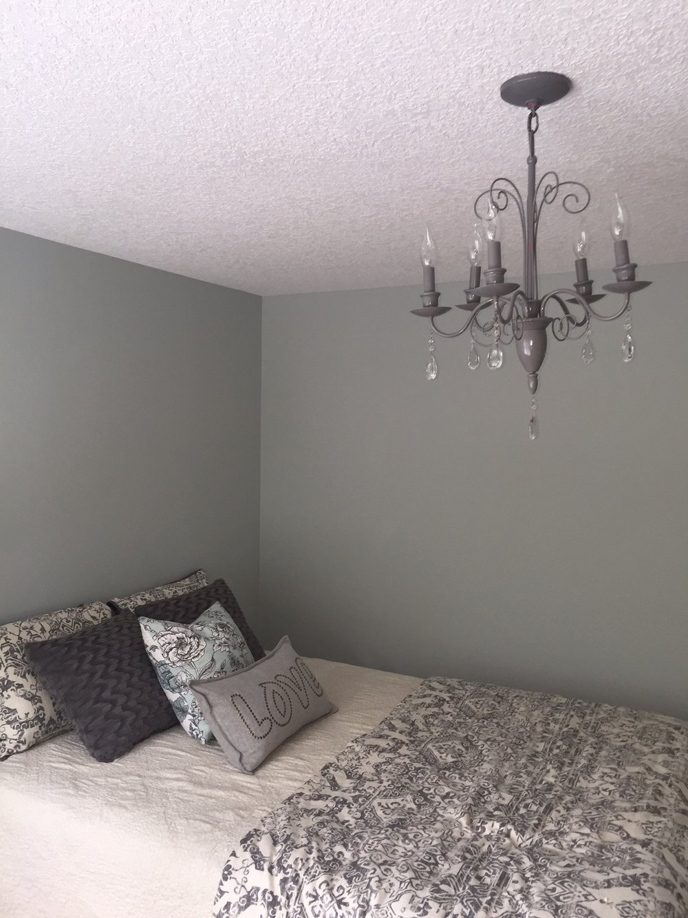 Bedroom Makeover. Before and After.