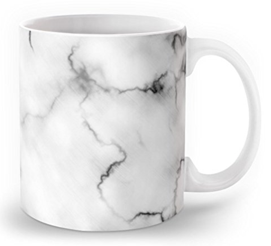 Cute Marble Coffee Mug
