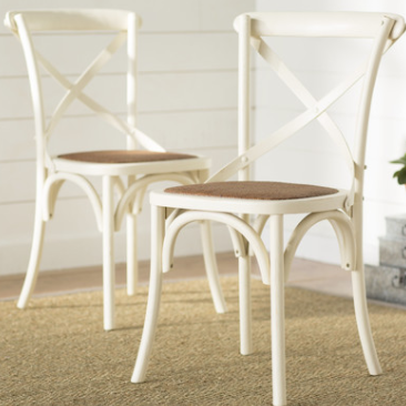 White french bistro Chair