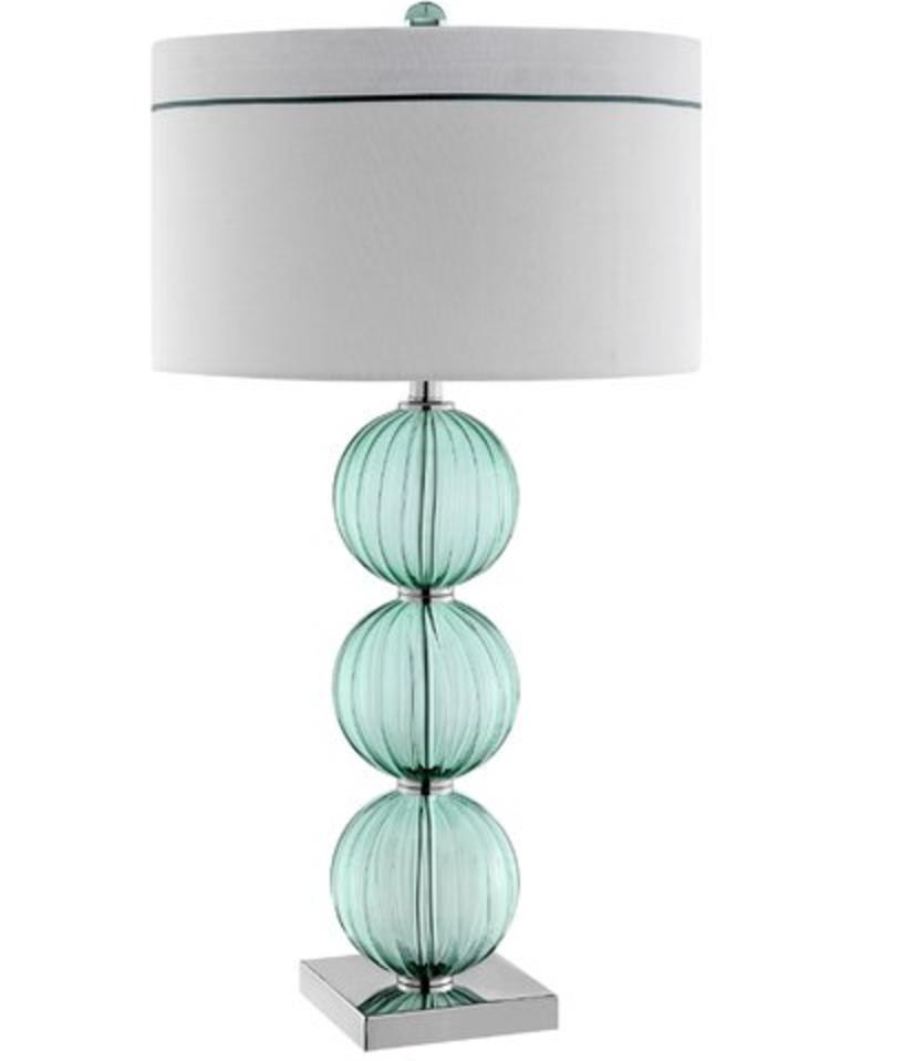 Blue Glass Lamp