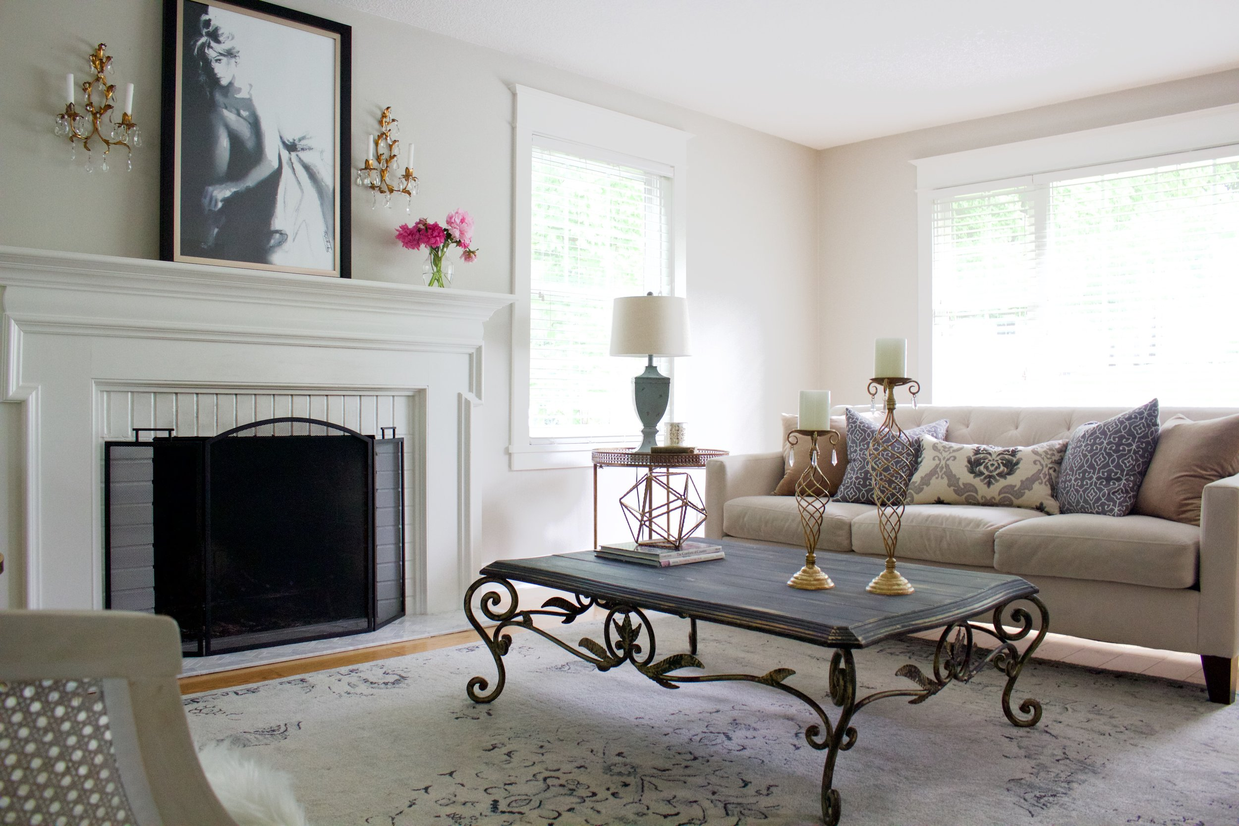 Style Switch Up: Making my Living Room look Parisian