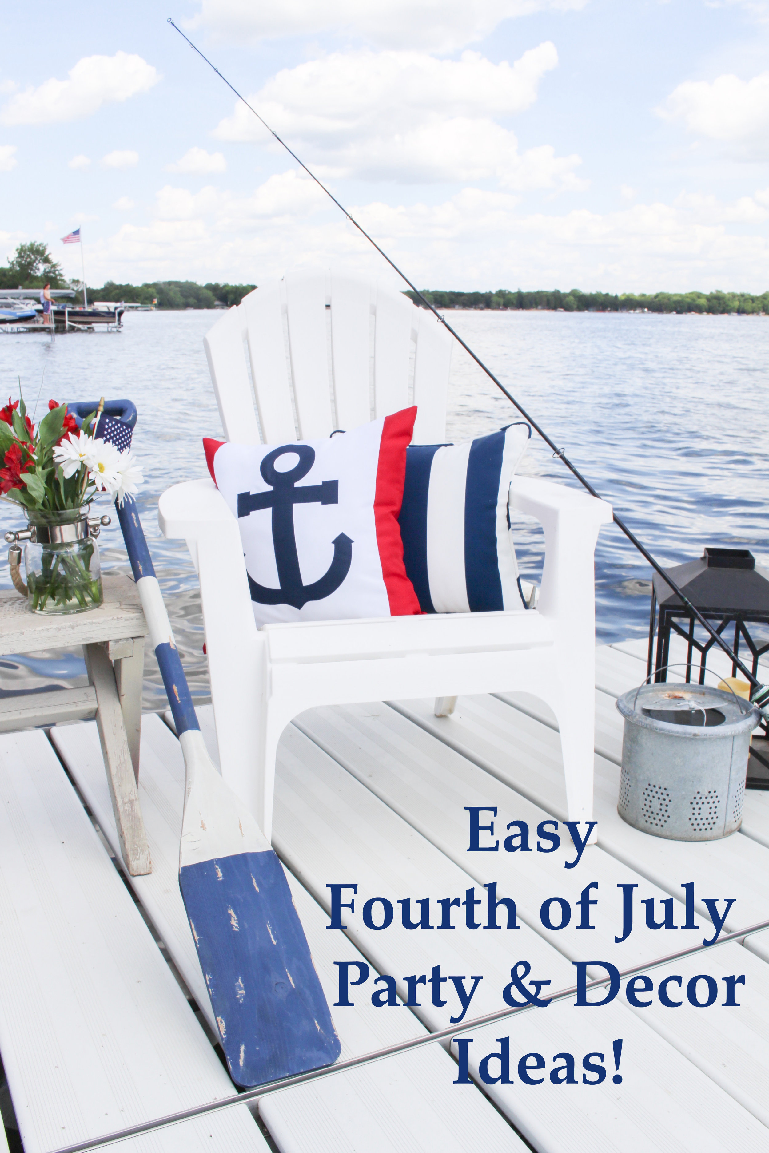Easy Fourth of July Party & Decor Ideas! - Styled With Lace