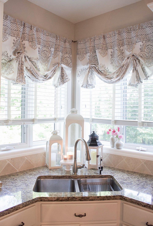 How To Make No Sew Curtain Valances