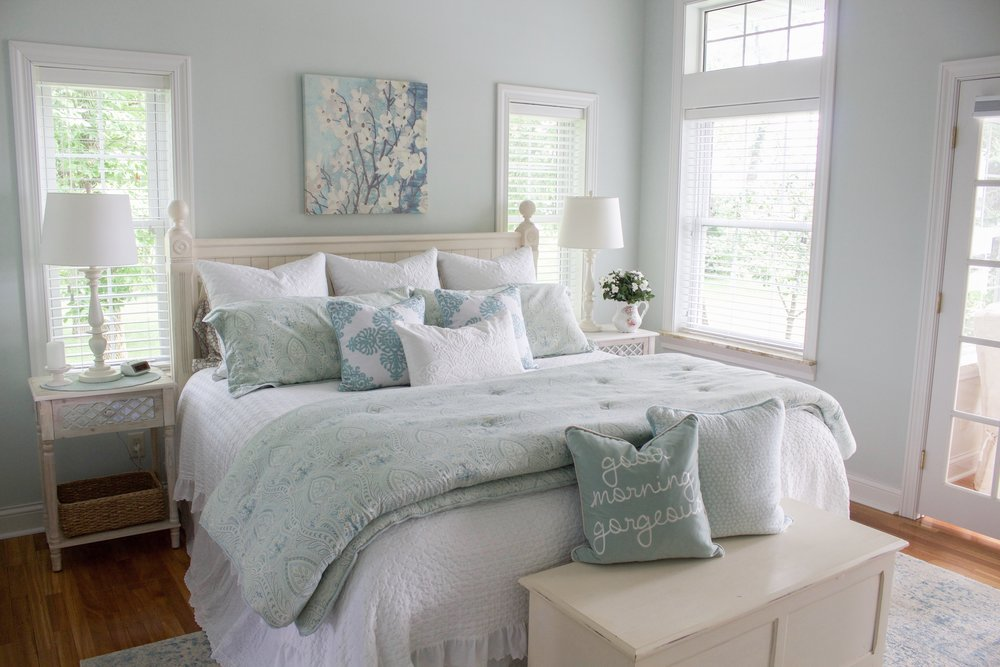 Lake Home Tour: Part 3 - Master Bedroom