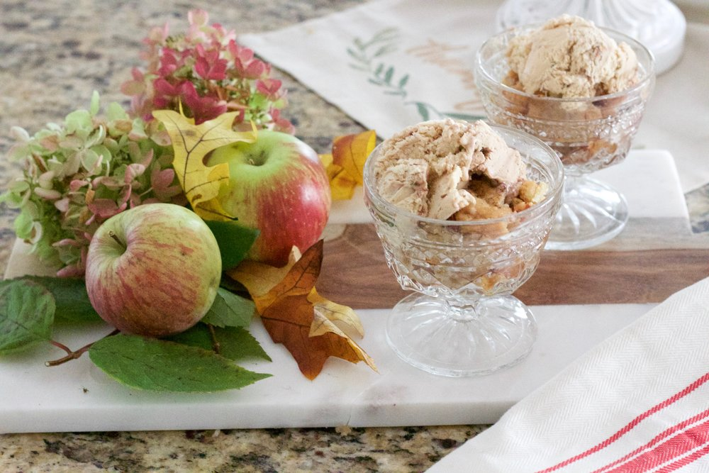 Traditional Fall Decor + Easy Apple Cobbler Recipe