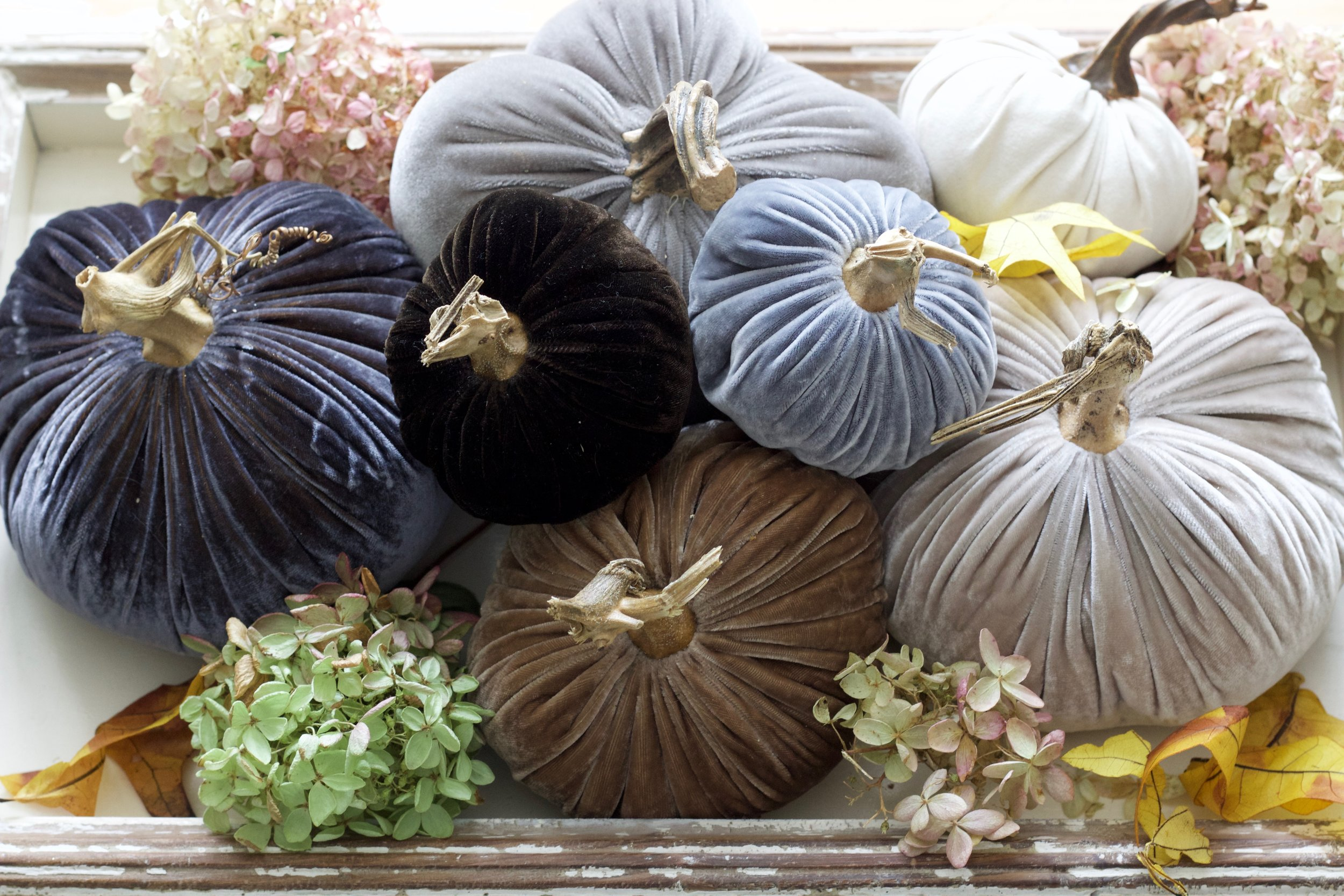 Cozy Neutral Fall Decor | A Mini Blog Hop