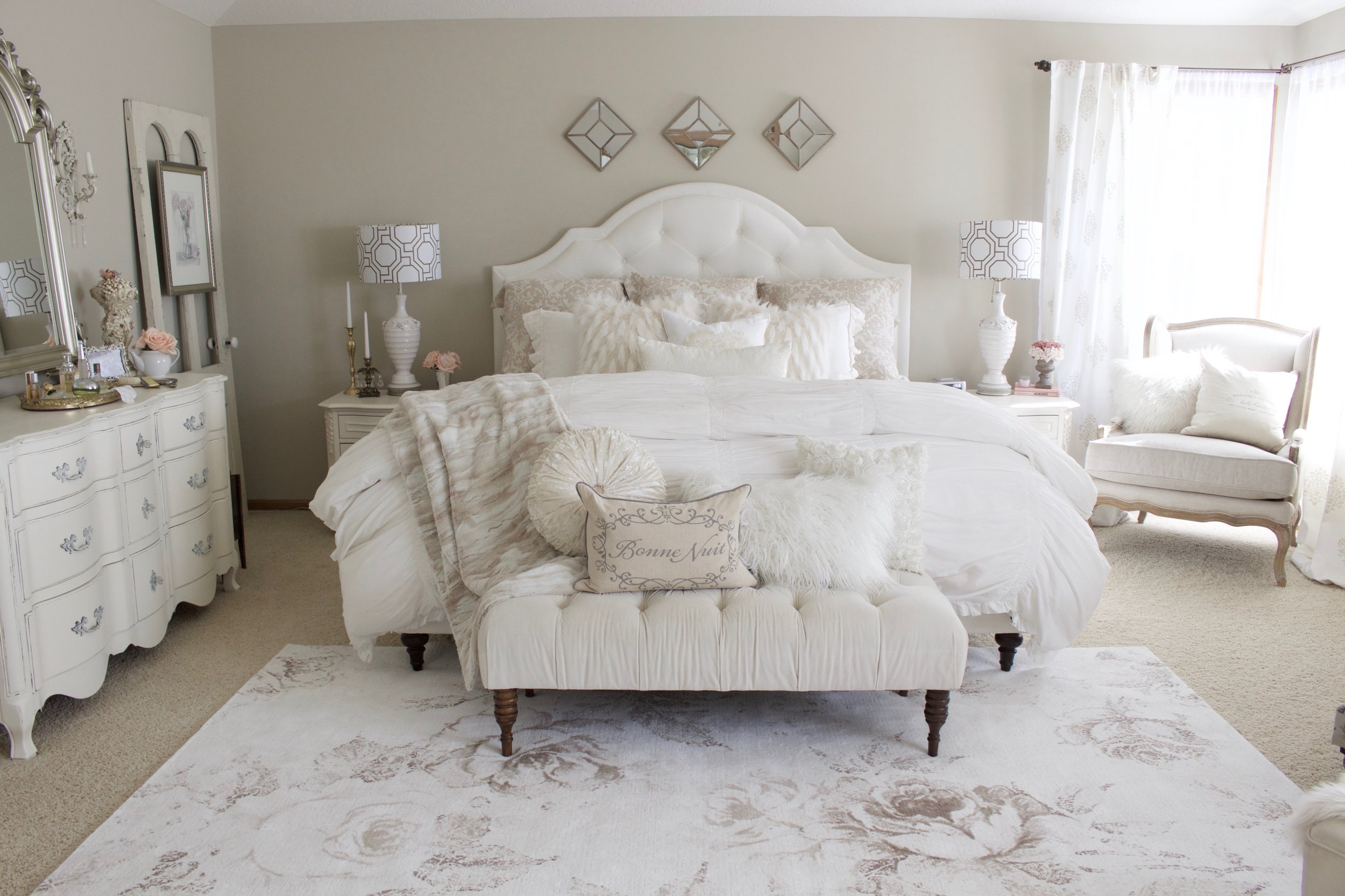 Master Bedroom Refresh with eSale Rugs | Part 1