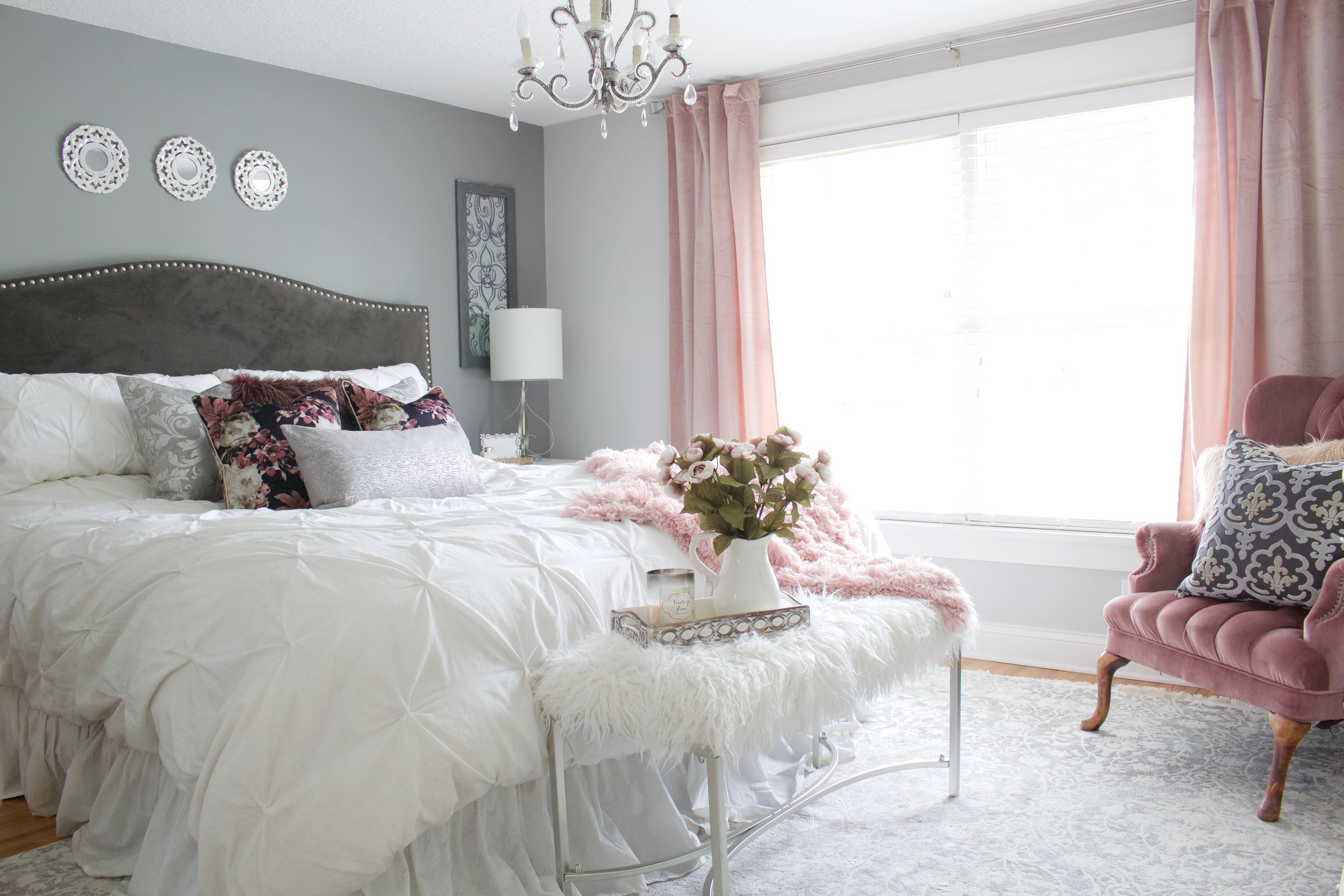 Master Bedroom Refresh with eSale Rugs | Part 2 - Styled With Lace
