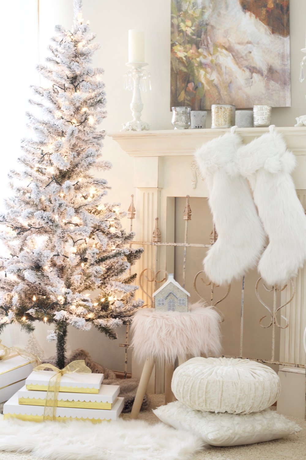Home For Christmas - A Blush Pink Bedroom