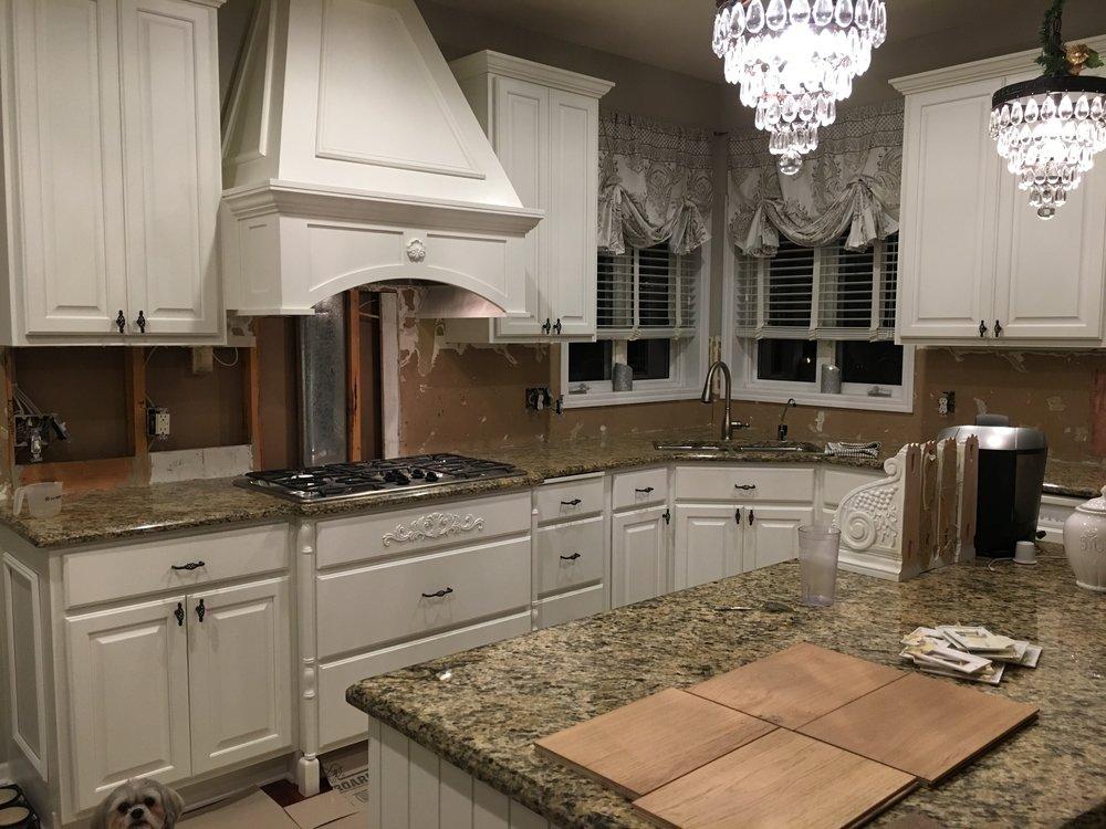 Bright White Kitchen Remodel