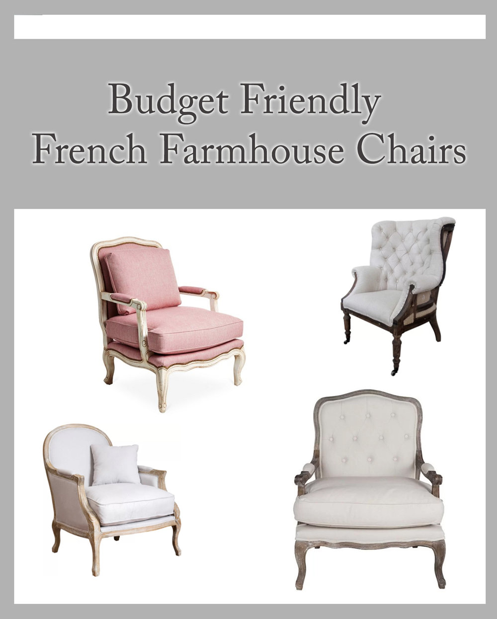 Best Budget Friendly French Farmhouse Chairs