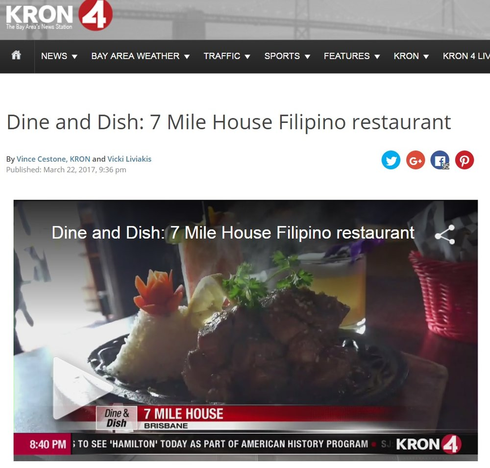 Our 'Paws on the Patio' featured on KRON4 News 'Dine & Dish'!