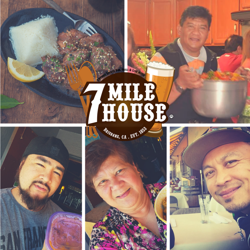 Meet our Adobo Cook Off Contestants!  Rene Carranceja , Aaron Bautista,Becky Gonzales, and  Artnelson Concordia .