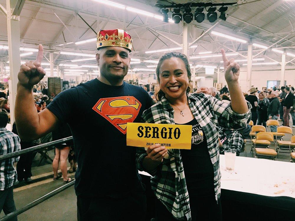 Sergio retakes the crown!