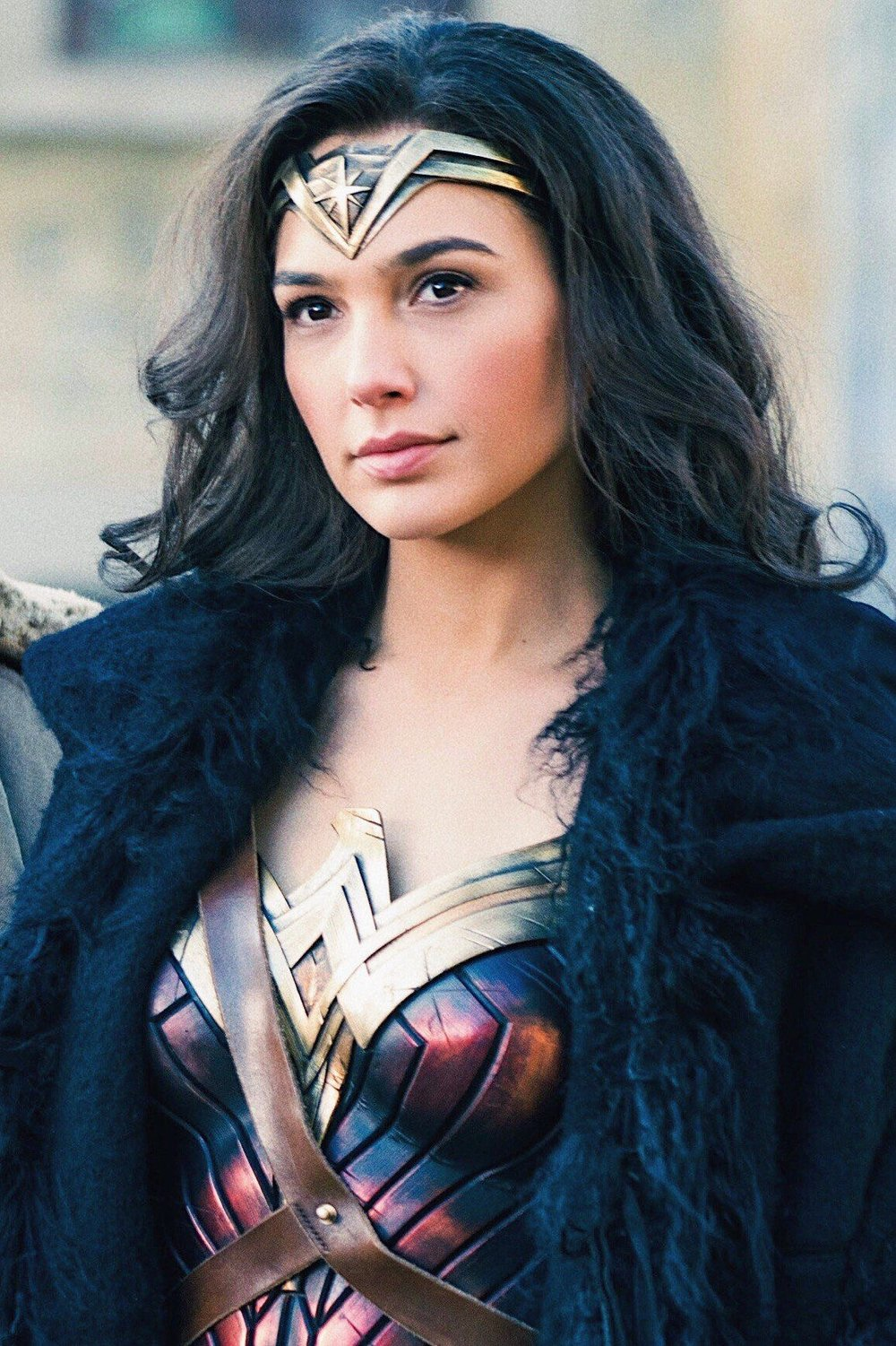 Wonder Woman, played by Gal Gadot