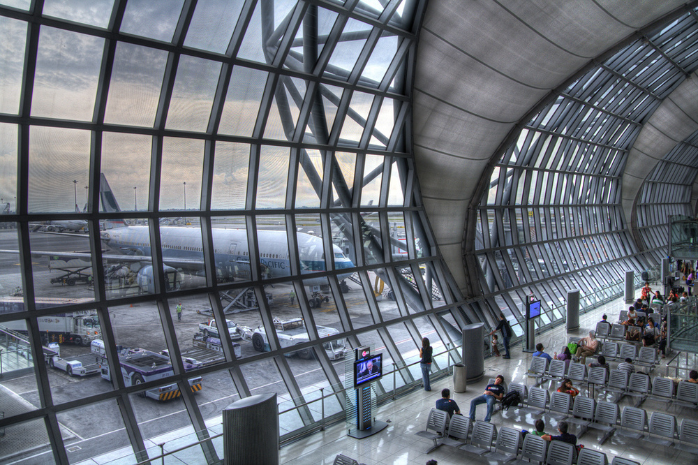 It might be a while before I travel here to Bangkok Suvarnabhumi Airport. Image credit: GAry Wong/Flickr