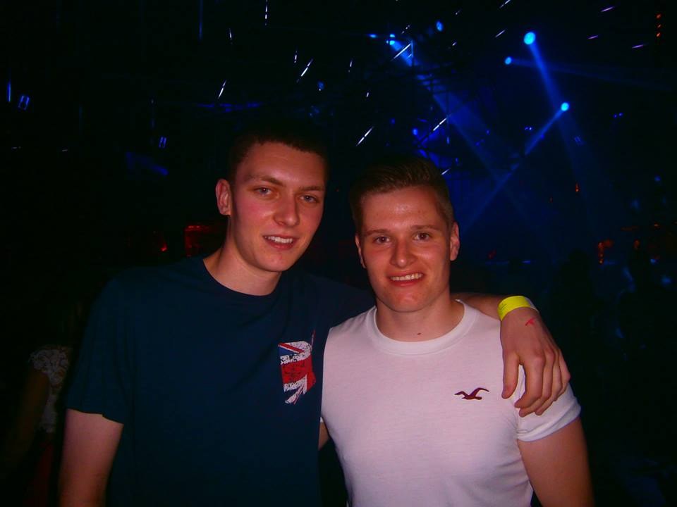 My main 21st present was a week in Ibiza. Here I am in Amnesia to see Chase & Status.