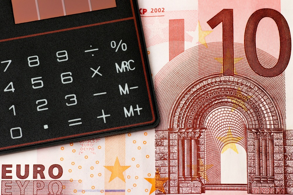 A calculator can come in handy when budgeting travel money.