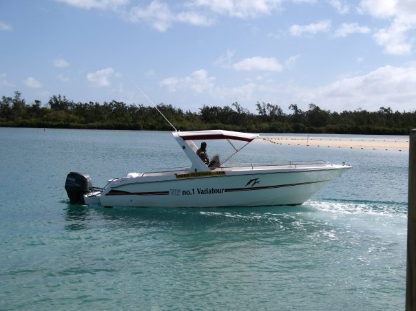 The speedboat looks tame, but it was far from it. One of my favourite travel memories.