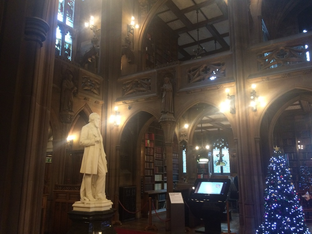 John Rylands Library has some stunning architecture, and is one of Manchester's most fascinating attractions.