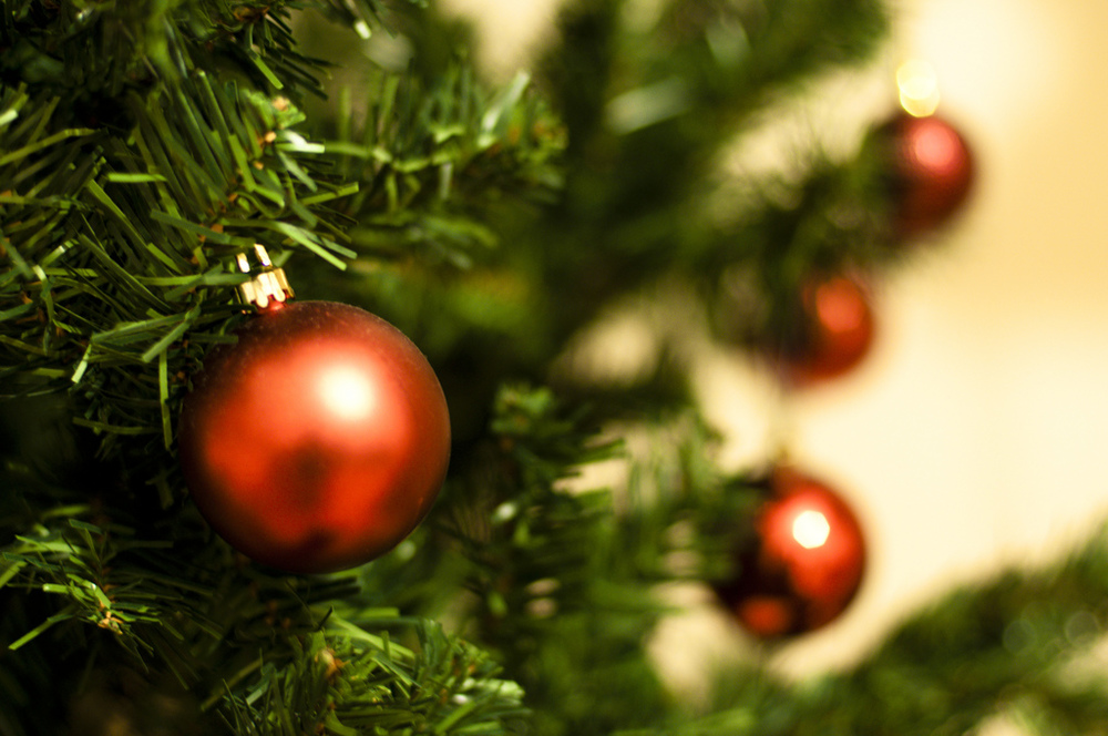 The staple of any celebrating household at Christmas - a Christmas tree. Image credit:    Sergé   /Flickr