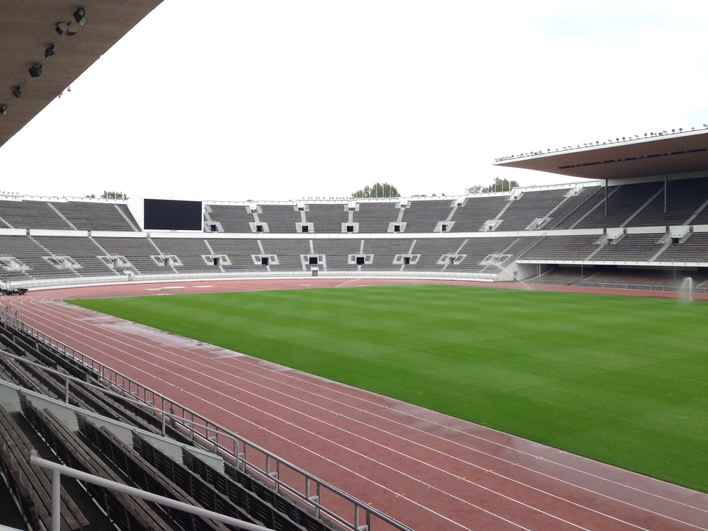 The inside of Helsinki's Olympic Stadium. When they hosted the summer games in 1952, Finland won 22 medals in total - six gold, three silver and 13 bronze.