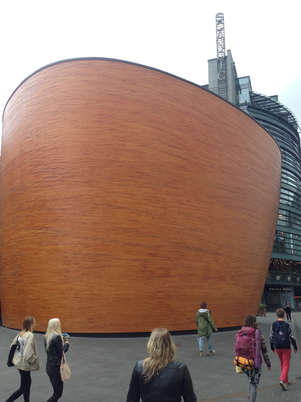 The Kamppi Chapel of Silence is one of the most intriguing buildings in the city.
