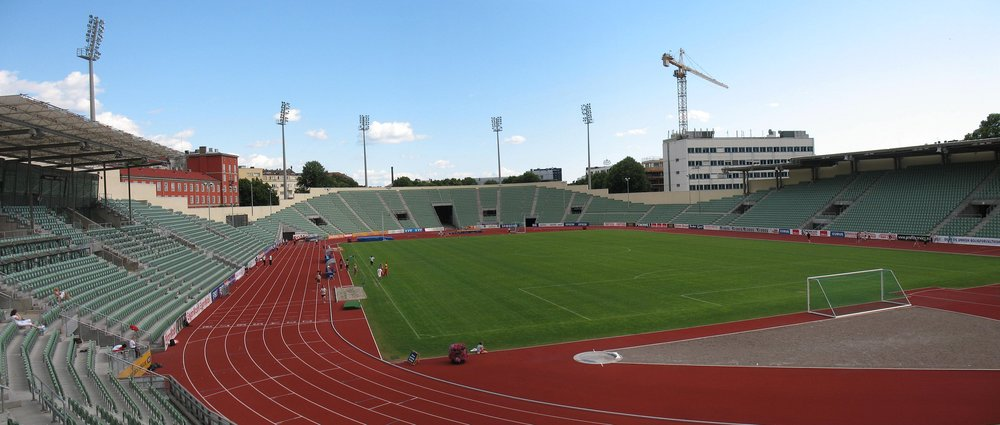 Bislett Stadium, home of Lyn Oslo, was on my to-do list, but we didn't manage to cram it in to a packed itinerary. It was also where the opening and closing ceremonies for the 1952 Winter Olympics were held. Image credit:  Kjetil Ree /Wikimedia Commons