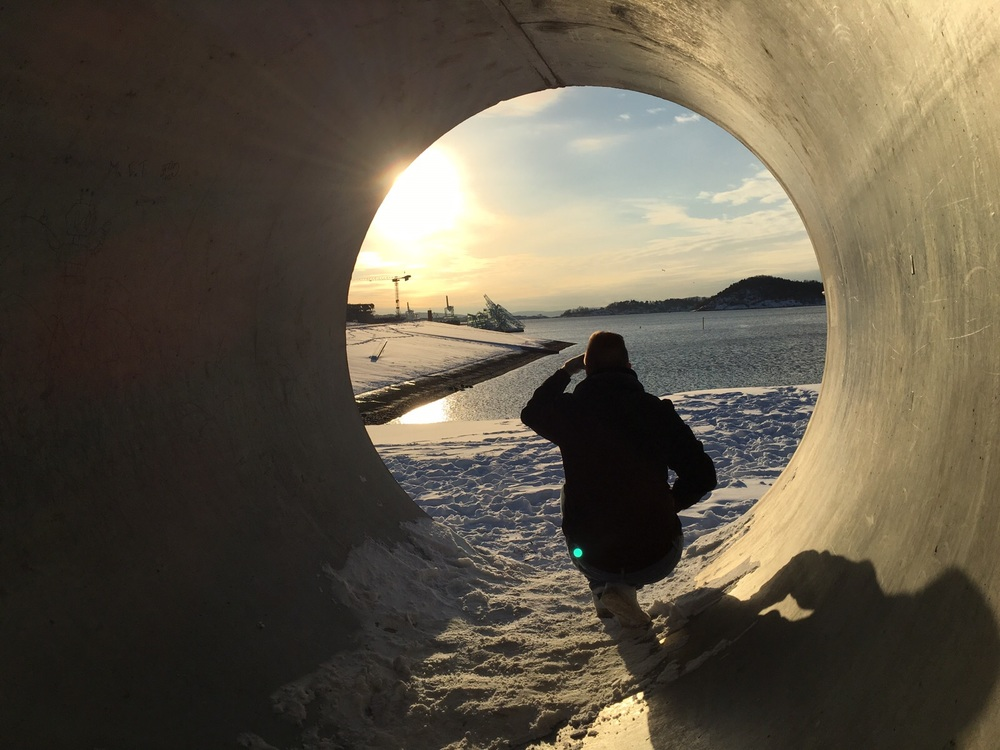 Oslo-Harbour-Concrete-Cylinder