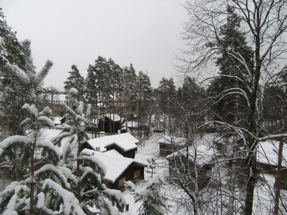 Oslo-Folk-Museum-Snow-Norway