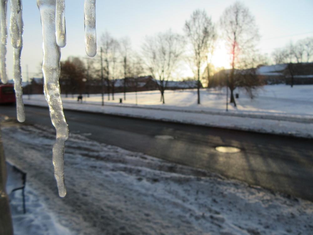 Oslo-Snow-Scenery-Icicle-Norway