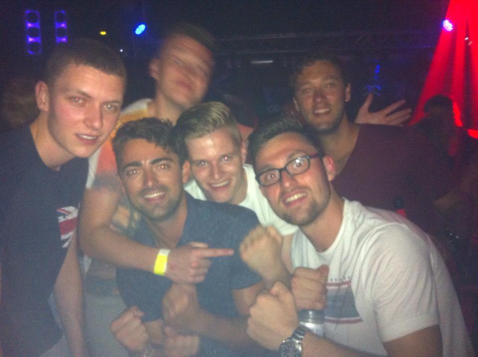 In Ibiza megaclub Amnesia in 2014.
