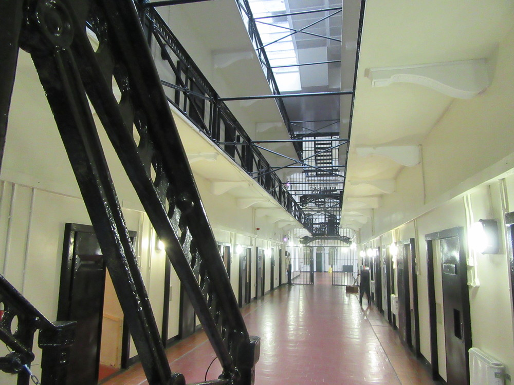 Inside the C wing at Crumlin Road Gaol.