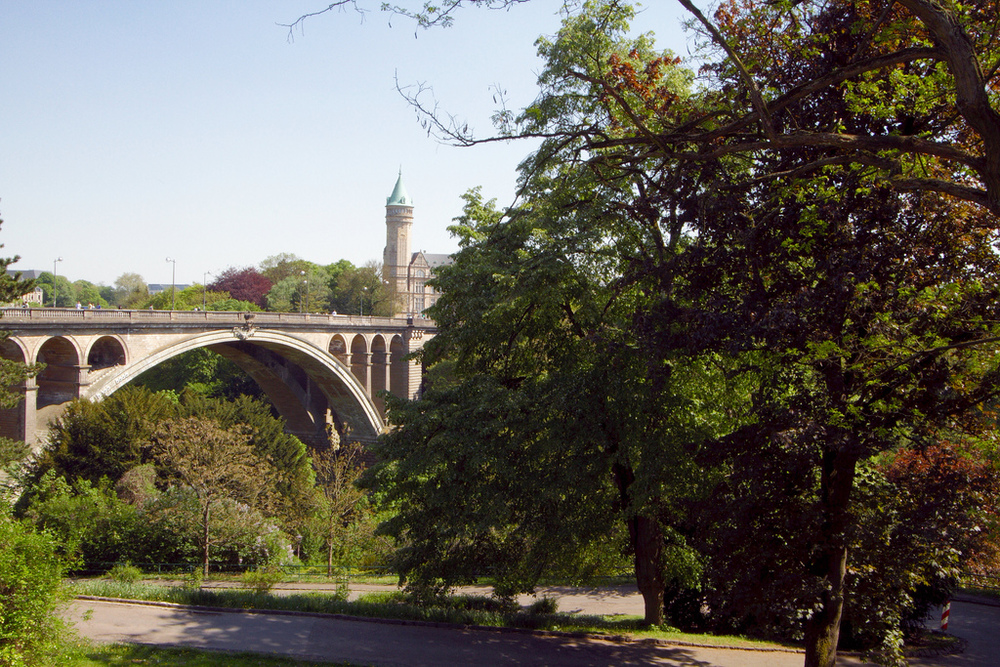 One of the sights I can expect to see on my trip to Luxembourg City in May. Image credit:    Frans de Wit   /Flickr
