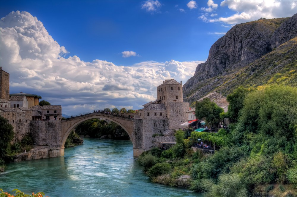 The Stari Most had to be reconstructed after it was destroyed in the Croat-Bosniak War over 22 years ago. Image credit:  Clark & Kim Kays /Flickr