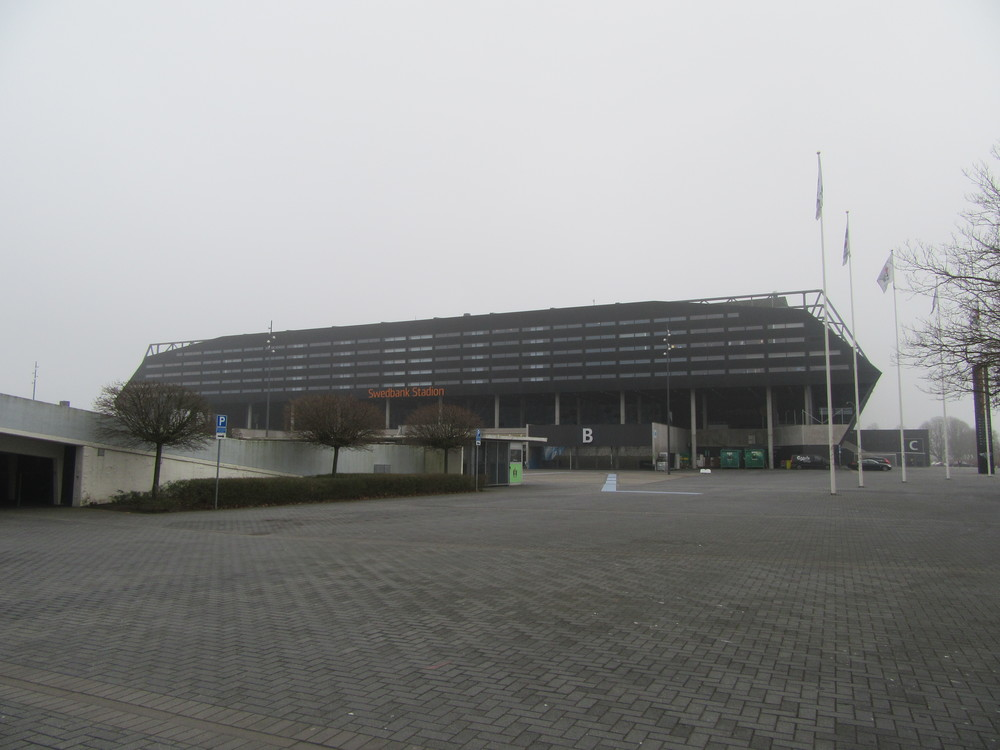 The newer Swedbank Stadion has hosted international matches as well as concerts.